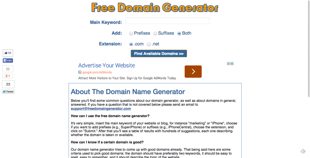 Dating domain name ideas