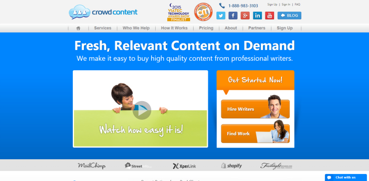 crowd content content writing service