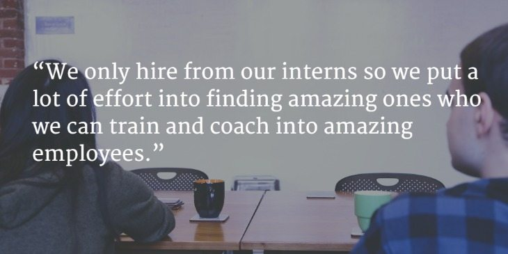 How We Find, Interview and Hire Amazing Interns
